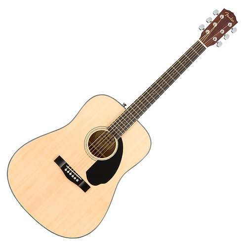 FENDER CD60 S DREADNOUGHT ACOUSTIC NATURAL