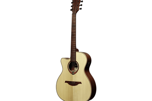 LAG T88A CE Auditorium Solid Top Electro-acoustic Guitar LEFT HANDED