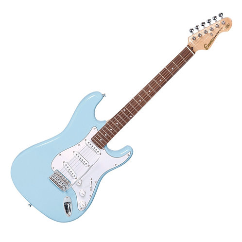 Encore Strat Electric Guitar Light Blue