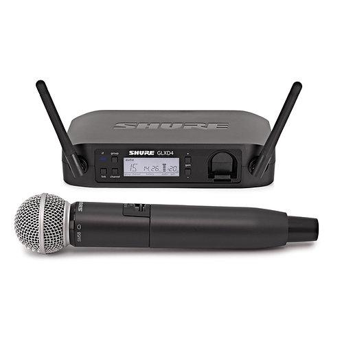 Shure GLXD24/SM58 Digital Wireless Microphone System