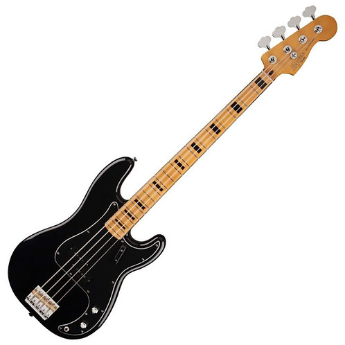 SQUIER BY FENDER CLASSIC VIBE 70s P BASS GUITAR BLACK