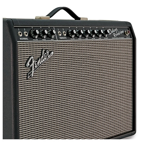 Fender 65 Deluxe Reverb Electric Guitar Amplifier - Valve