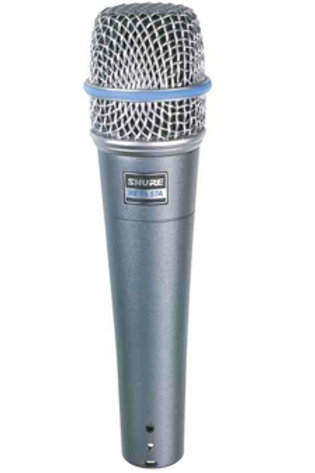 Shure SM57a Beta Instrument Microphone