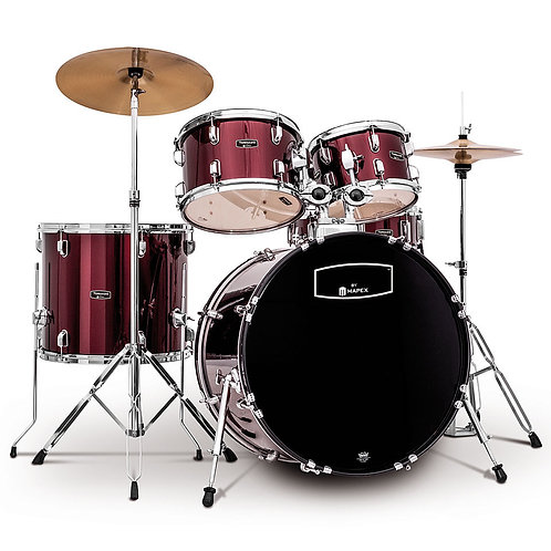 "Mapex 20"" Fusion 5pc Drum Kit"