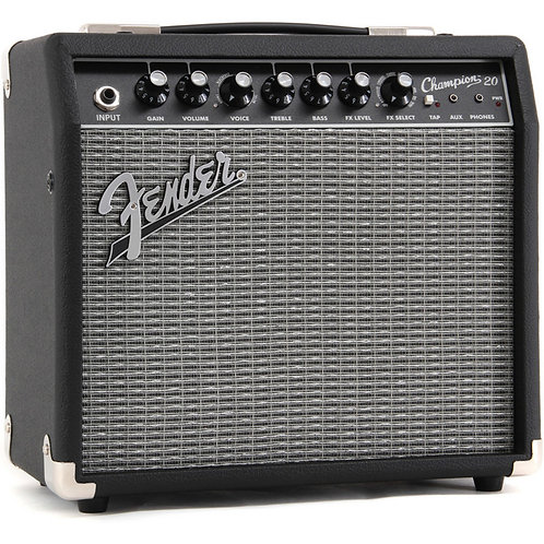 FENDER CHAMPION 20 ELECTRIC GUITAR AMP WITH EFFECTS TO ORDER