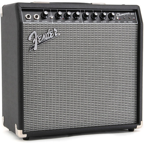 FENDER CHAMPION 40 ELECTRIC GUITAR AMP WITH EFFECTS TO ORDER
