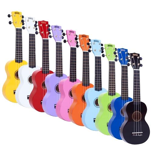 MAHALO RAINBOW SERIES COLOURED UKULELE