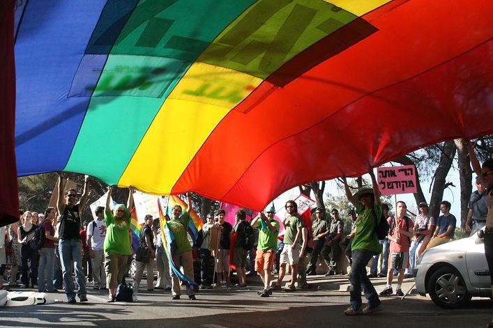 מצעד הגאווה ברגלי בחיפה 2007 צלם יאיר גי