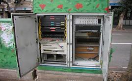 Communication cabinet Haifa Metropolis