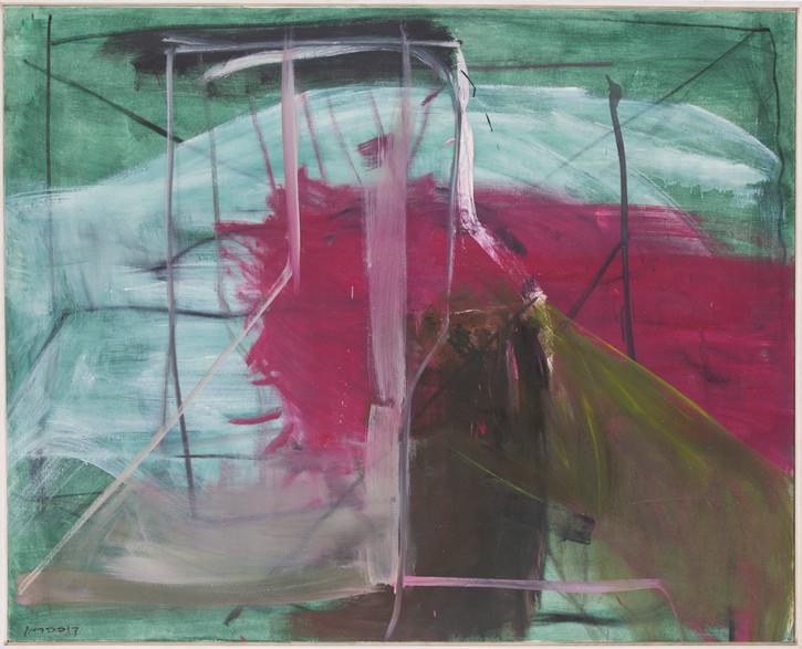 משה קופפרמן, ציור, אוסף מוזיאון חיפה לאמנות