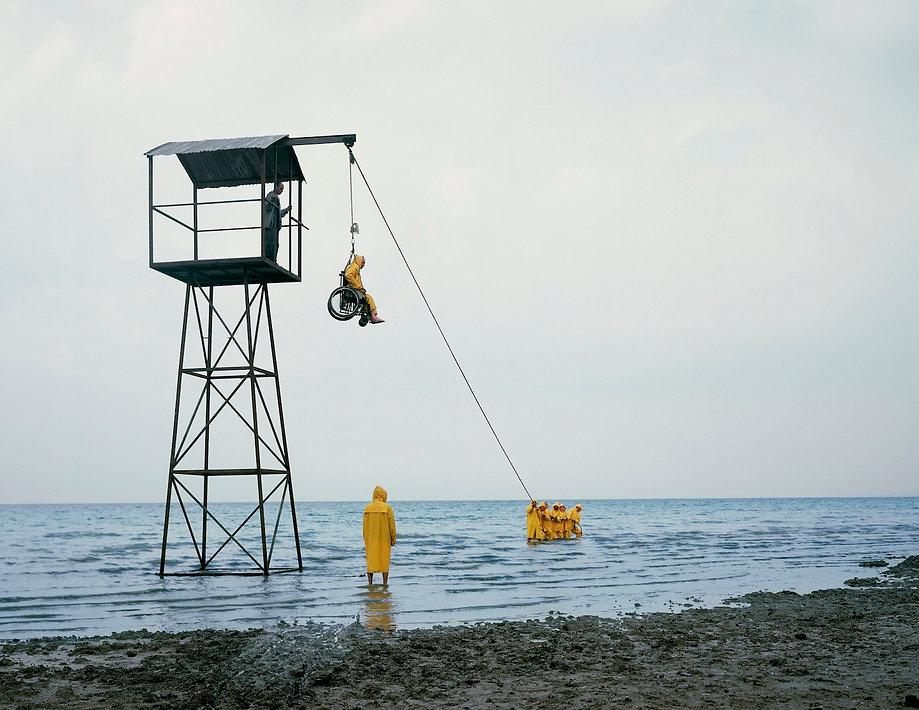 עודד הירש, חציאיש, 2009, הדפסת צבע, קרדי