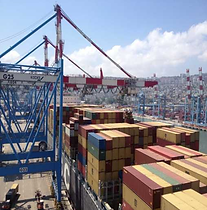 Port Of Haifa – Cranes