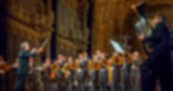 Benefizkonzert mit den Blechbläsern und Schlagzeugern des Bayreuther Festspielorchesters für das SOS Kinderdorf in Immenreuth unter der Leitung von Axel Kober