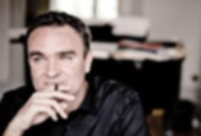 Komponist und Klarinettist Jörg Widmann im Konzert mit den Düsseldorfer Symphonikern unter der musikalischen Leitung von Axel Kober