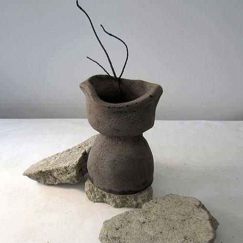 Vase en céramique fait à la main
