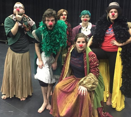Clowning King Lear