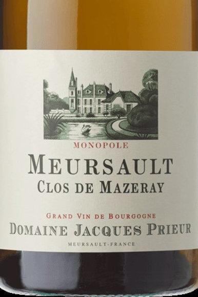 Meursault Clos de Maseray-Jaques Prieure