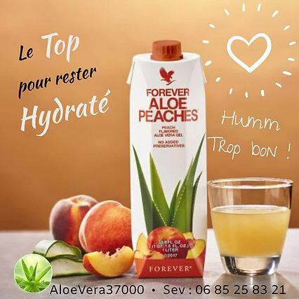 Aloe Vera Pêche