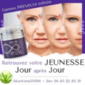 Crème réparatrice Aloe Vera : Sans parfum - Retrouvez votre jeunesse jour après jour