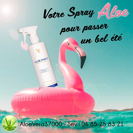 FIRST - Aloe vera : Le spray indispe pour vos vacancessable