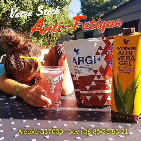 Argi+ : le stick  anti-fatigue, endurance, récupération .... Effet garanti !