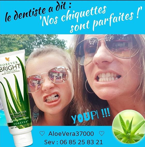dentifrice Aloe Vera : un bonheur pour votre flore buccale : fini aphtes, gencives qui saignent, mauvaise haleine ...