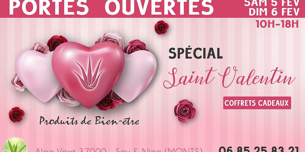 Portes Ouvertes ALOE - Spécial St Valentin