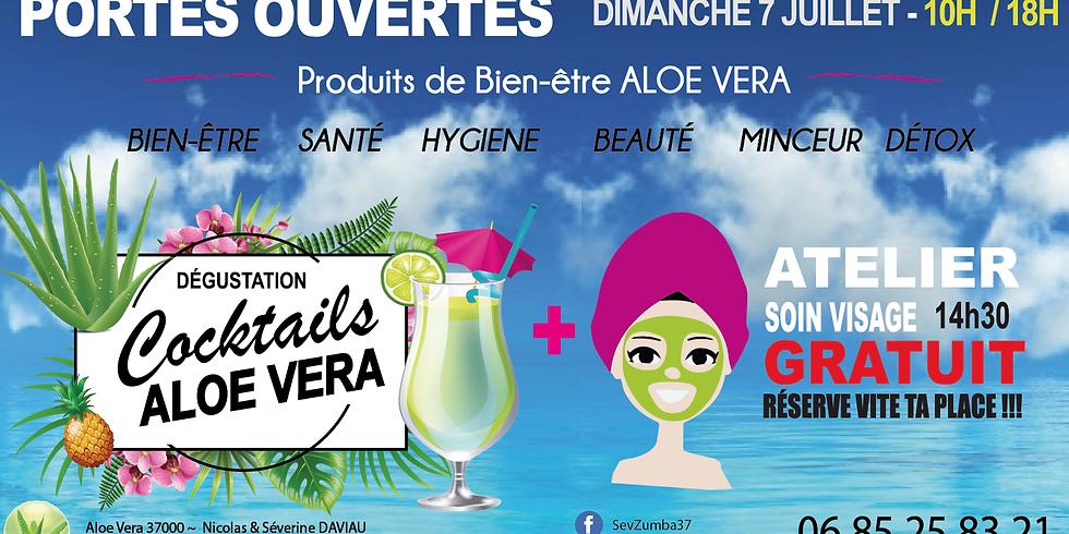 PORTES OUVERTES ALOE VERA - Cocktails + Ateliers soin Visage
