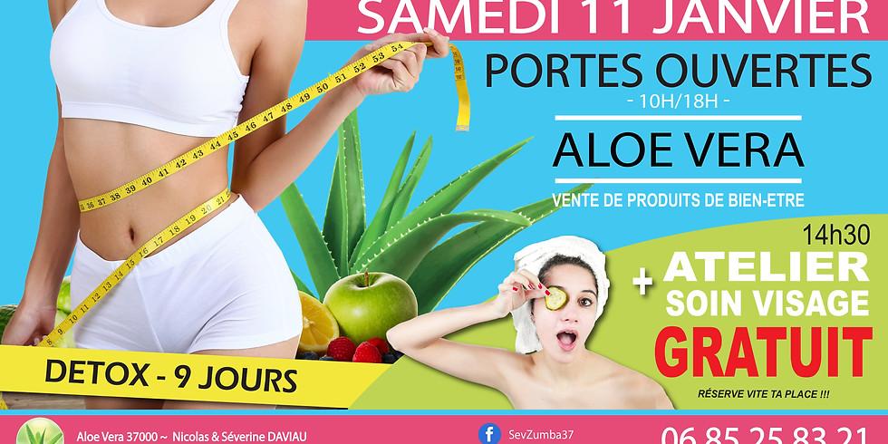 Portes Ouvertes Aloe - PROMO - Atelier Soin Visage GRATUIT