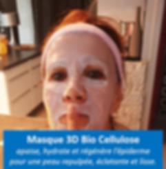 masque 3D Aloe Vera - Bio cellulose : il apaise, hydrate et régénère votre épiderme ! une sensation et un résultat inégalables ! A tester absolument dans votre Boutique - Sev 06 85 25 83 21