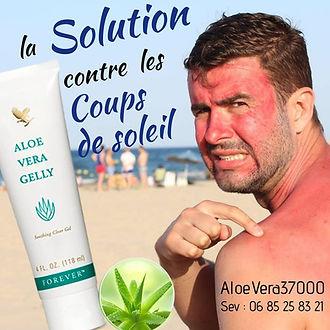 Aloe vera : la solution naturelle pour vos coups de soleils