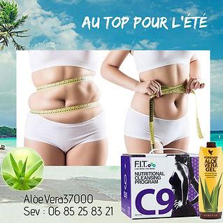 Cure c9 Aloe Vera : Au top pour l'été