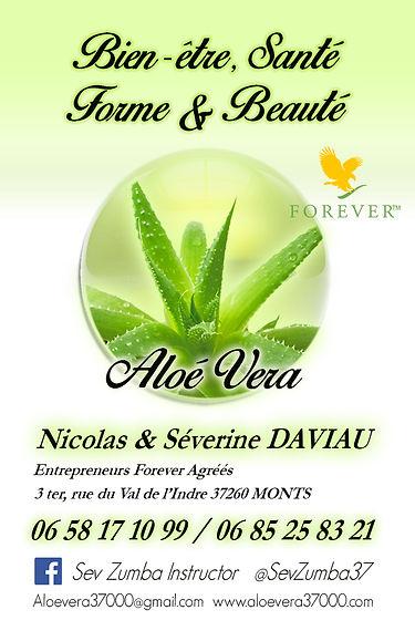 Carte De Visite Aloe Vera Nico Sev2jp