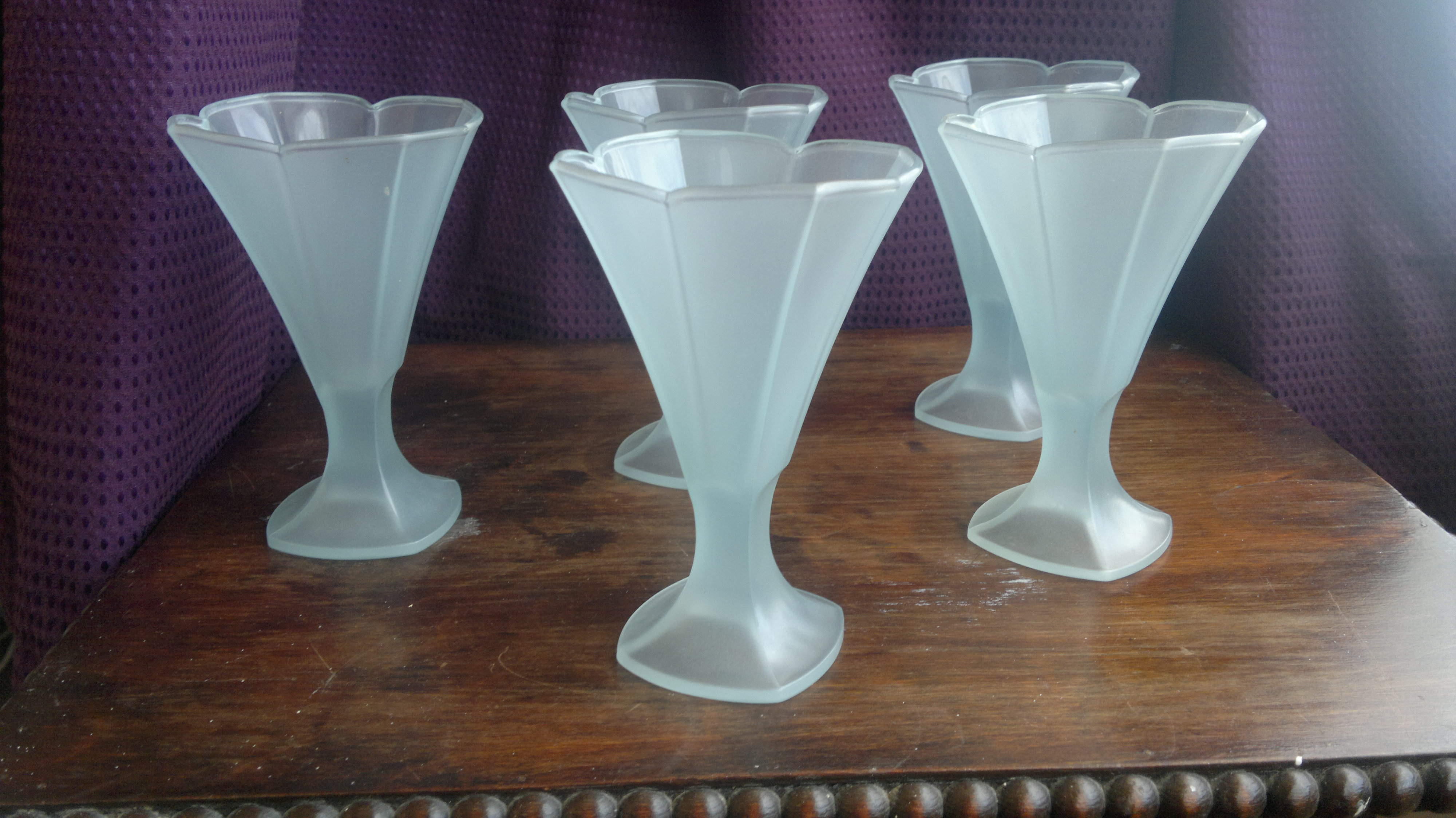 Retro Sundae Glasses