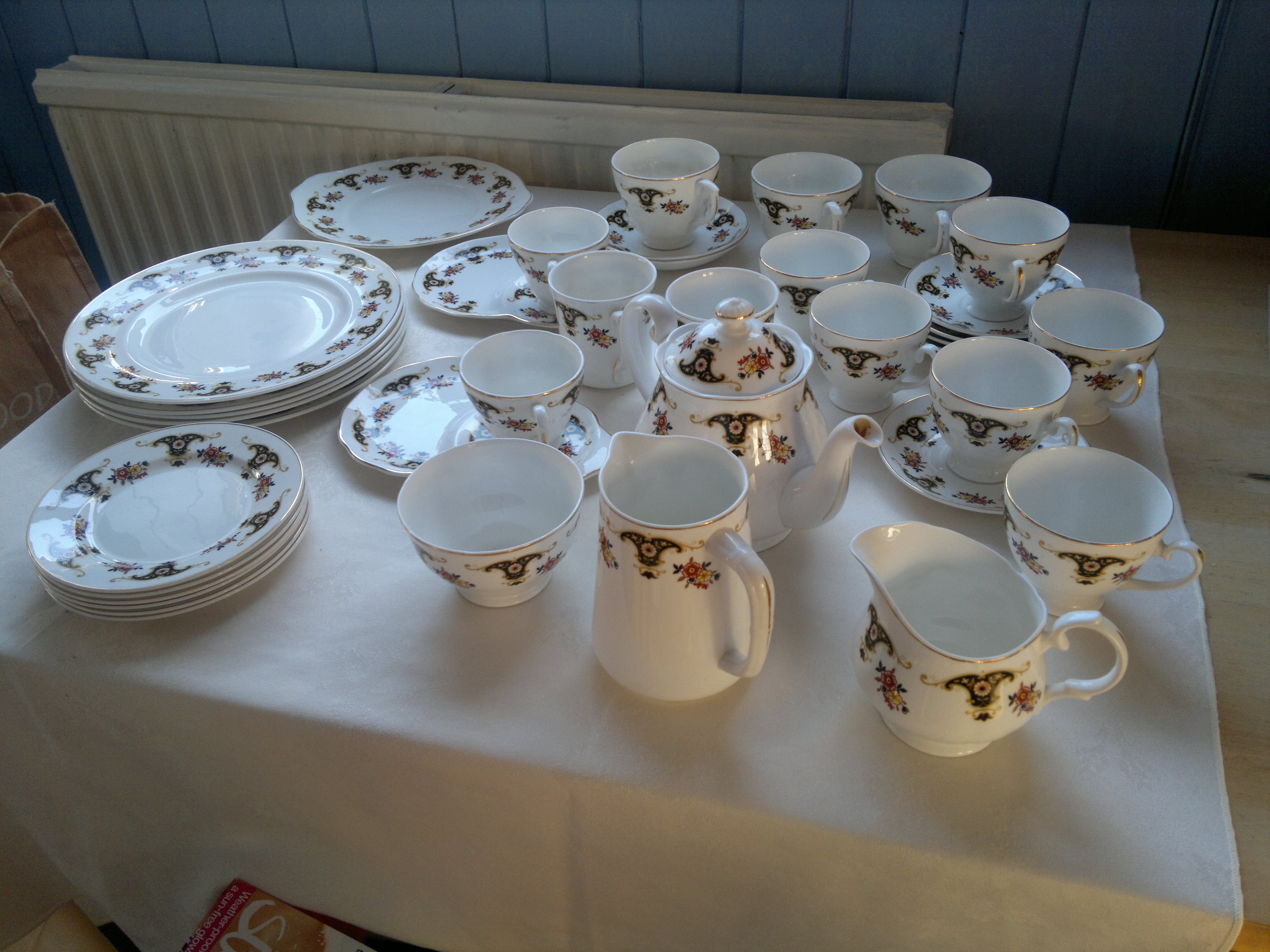 Large Vintage Tea and Coffee Service