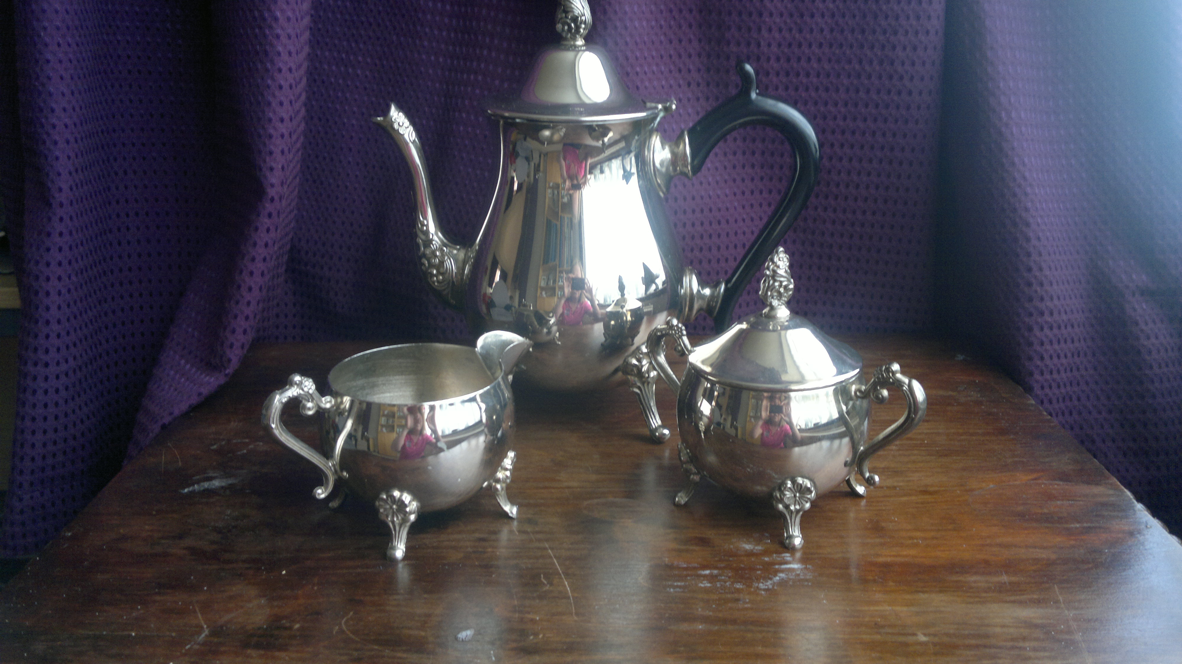 Silver Plate Coffe Set