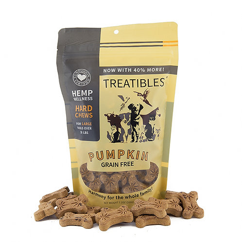 Full Size – Large Pumpkin Hard Chews (45 ct) – Canine