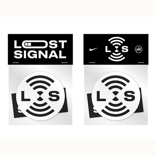 """LOST SIGNAL"" Sticker Pack"