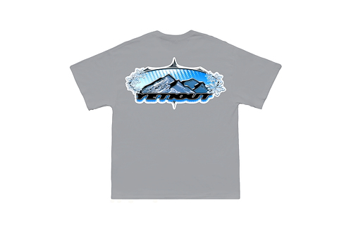 "GUCCIMAZE x Yeti Out ""Chrome Peak"" Tee"
