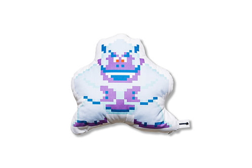 8-Bit Yeti Plush Pillow
