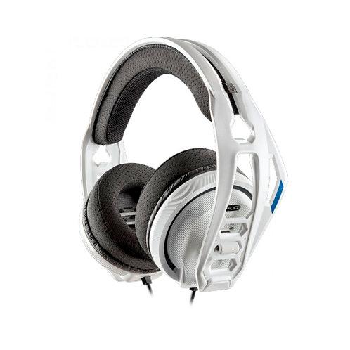 Plantronics RIG 400HS Auriculares Gaming para PS4 Blancos