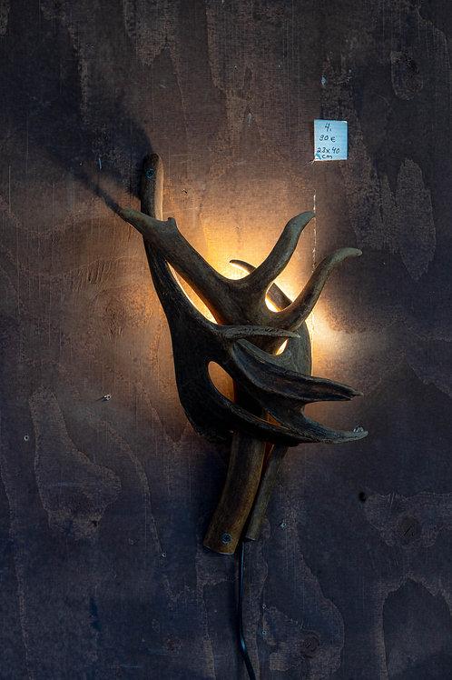 Sarvivalaisin / Horn lamp 23x40 cm no 4