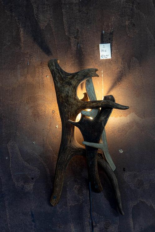Sarvivalaisin / Horn lamp 23x45 cm no3
