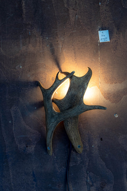 Sarvivalaisin / Horn lamp 21x27 cm no 6