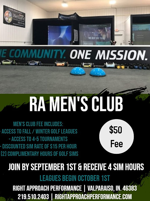 RA Men's Club Fee