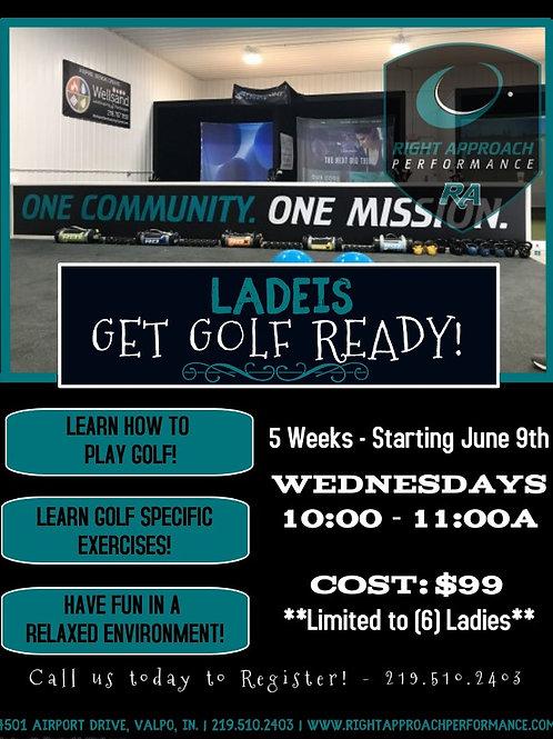 Ladies Get Golf Ready Program