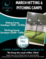 March Baseball Camps - Made with PosterM