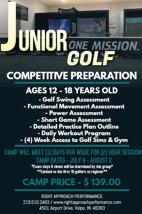 Competitive Prep Camp