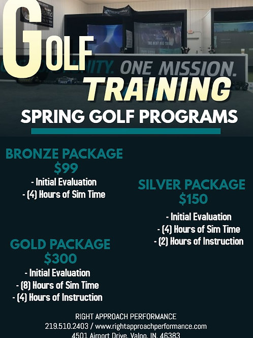 Spring Golf Training