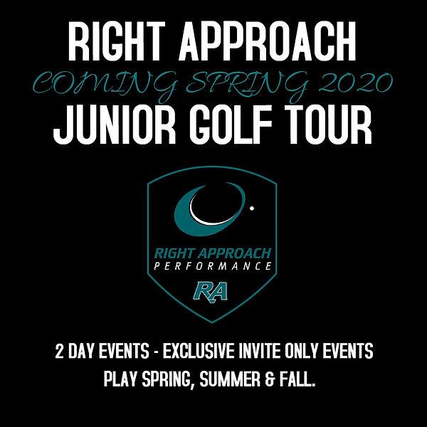 RA Junior Golf Tour - Made with PosterMy